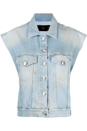 3x1 Damen Westen - Klassische Jeansweste