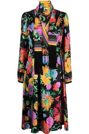 Gucci Kleid mit Blumen-Print