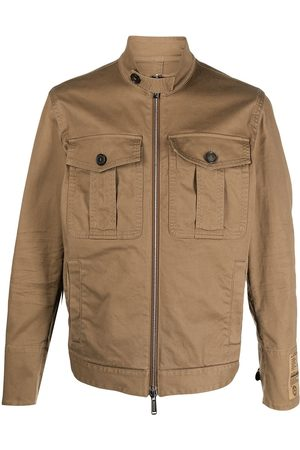 Dsquared2 Military-Jacke mit Logo-Patch