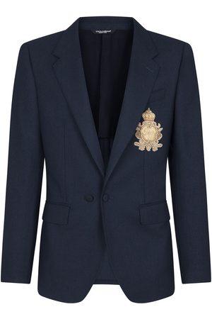 Dolce & Gabbana Herren Blazer & Sakkos - Sakko mit Logo-Patch