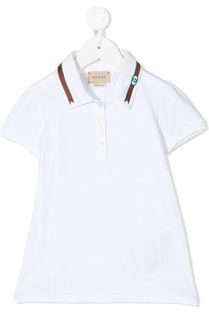 Gucci Mädchen Poloshirts - Poloshirt mit Webstreifen