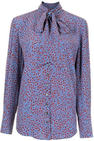 Equipment Bluse mit Blumen-Print