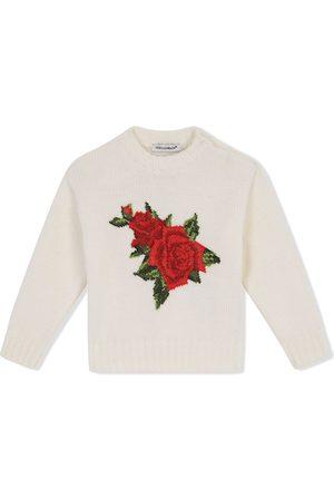 Dolce & Gabbana Pullover mit Kreuzstich