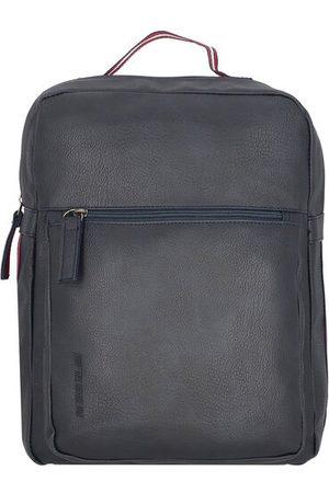 TOM TAILOR Rucksack 37 cm Laptopfach, dark blue