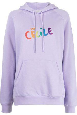 Être Cécile Damen Sweatshirts - Hoodie mit Logo-Print