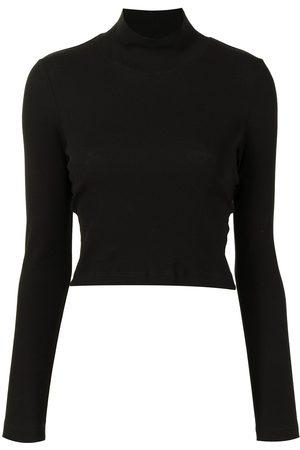 Rosetta Getty Damen Strickpullover - Pullover mit Stehkragen