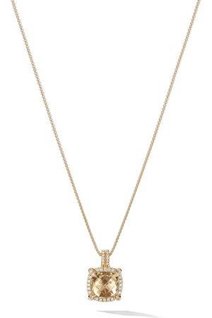 David Yurman 18kt 'Châtelaine' Gelbgoldanhänger mit Diamanten