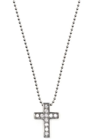 Dsquared2 Herren Halsketten - Halskette mit Kristallkreuz