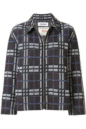 Coohem Tweed-Jacke mit Reißverschluss