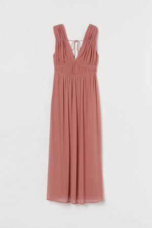 H&M Kleid mit V-Ausschnitt