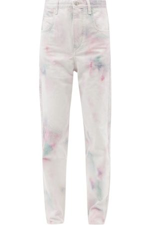 Isabel Marant Corfy High-rise Tie-dye Jeans