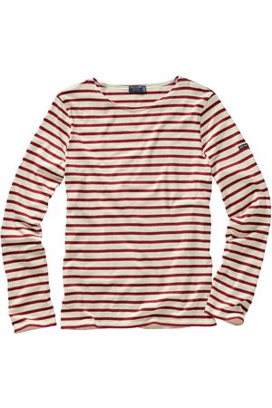 Mey & Edlich Saint James Herren Bretagne-Shirt streifen ecru/ 3XL, L, M, XL, XXL