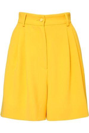 Dolce & Gabbana Damen Bermuda Shorts - Bermudashorts Aus Stretch-viskosecady