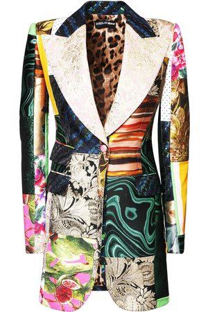 Dolce & Gabbana Damen Blazer & Sakkos - Patchwork-jacke Mit Jjacquard