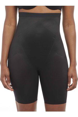 Spanx Damen Shorts - Thinstincts 2.0 High-Waisted Mid-Thigh Short