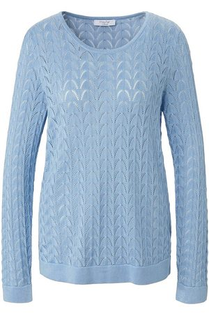 mayfair by Peter Hahn Rundhals-Pullover