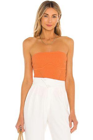 Camila Coelho Damen T-Shirts, Polos & Longsleeves - Hazel Tube Top in . Size M, S, XL, XS, XXS.