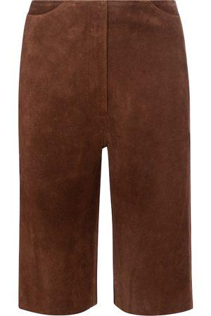 Totême Shorts aus Veloursleder