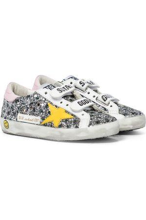 Golden Goose Sneakers Old School mit Glitter