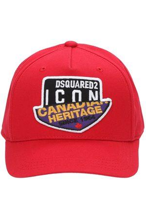Dsquared2 Mädchen Hüte - Baseballkappe Aus Baumwollgabardine