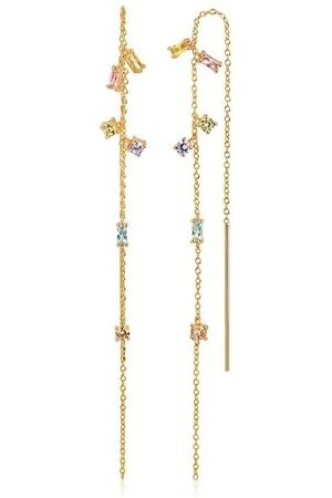 Sif Jakobs Damen Uhren - Ohrringe Princess Chain Earpost Yellow