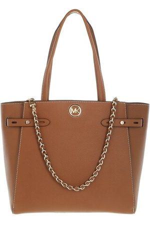 Michael Kors Tote Large Belted Tote Leather cognac