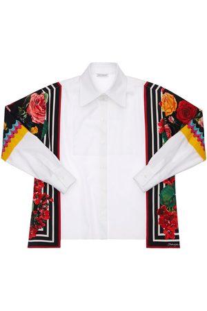 Dolce & Gabbana Hemd Aus Baumwollpopeline