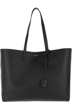 Saint Laurent Tote East West Medium Tote Leather Black