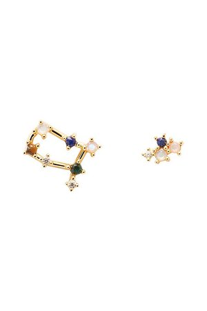 PDPAOLA Ohrringe Earrings GEMINI gold