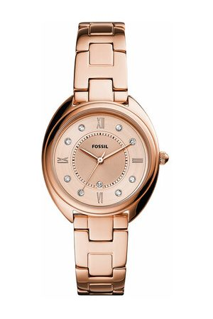 Fossil Uhr Gabby Three-Hand Date Stainless Steel Watch rosa