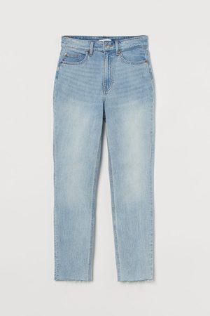 H&M Damen Slim - Slim High Ankle Jeans