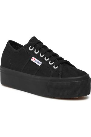 Superga 2790 Cotw Linea Up And Down S9111LW Full Black 996