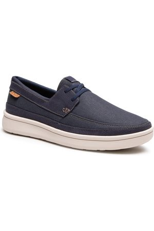 Clarks Cantal Lace 261598117 Navy Canvas