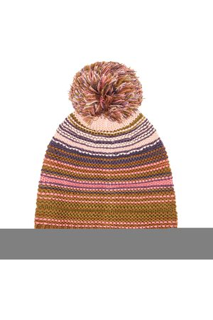 Buff Kinitted & Fleece Hat Neper 113586.512.10.00 Rosé