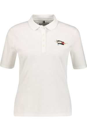 "Tommy Hilfiger Damen T-Shirts - Damen Poloshirt ""Regular Flag Polo"" Kurzarm"