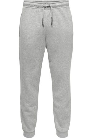 Only & Sons Herren Jogginghosen - Ceres Life Sweat Pants Trainingshose hellgrau