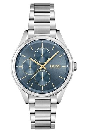HUGO BOSS Uhr multifunctional watch silber