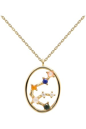 PDPAOLA Halskette Necklace AQUARIUS gold