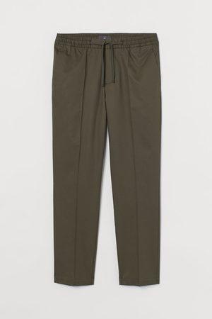 H&M Cropped Joggpants Slim Fit