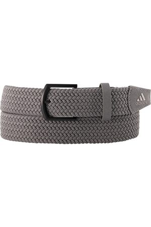 adidas Herren Gürtel - Gürtel Braided Stretch grey GQ6885