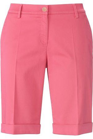 Brax Damen Bermuda Shorts - Slim Fit-Bermuda Modell Mia B. pink