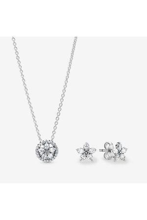 PANDORA Uhren - Funkelndes Blumen Geschenkset