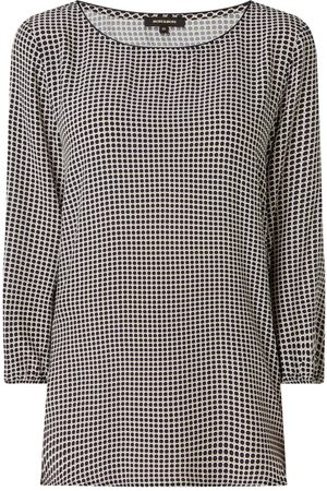 More & More Damen Longsleeves - Blusenshirt aus Viskose
