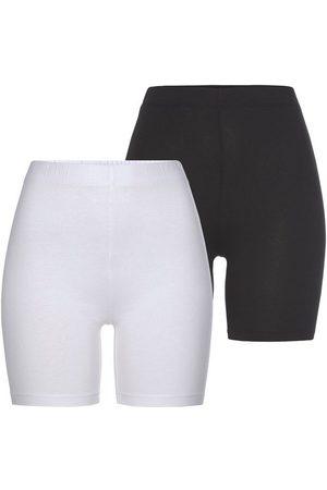 Tamaris Radlerhose (2er-Pack) zum Unterziehen unter Kleidern und Röcken