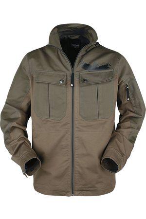 Black Premium by EMP Braune Jacke mit großen Brusttaschen Übergangsjacke braun