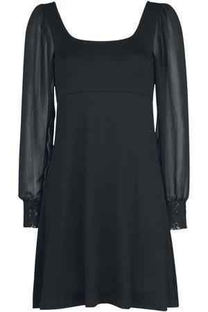 Outer Vision Damen Kleider - Dress Bet Kurzes Kleid schwarz