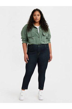 Levi's Damen High Waist Jeans - 721™ High Rise Skinny Jeans (Plus) - Dark Indigo / Dark Indigo