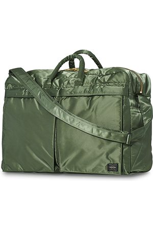 PORTER-YOSHIDA & CO Tanker 2Way Boston Weekender Sage Green