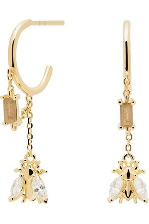 PDPAOLA Damen Uhren - Ohrringe Earrings BREEZE gold