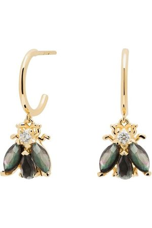 PDPAOLA Ohrringe Earrings ZAZA gold
